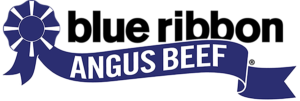 Blue Ribbon Angus Beef Logo